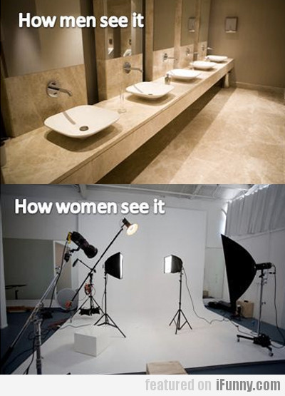 How We See Bathrooms