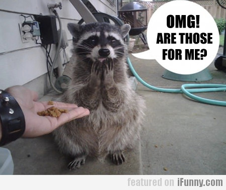 Omg! Are Those For Me?