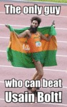The Only Guy Who Can Beat Usain Bolt!