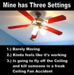 Mine Has Three Settings
