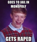 Goes To Jail In Monopoly...