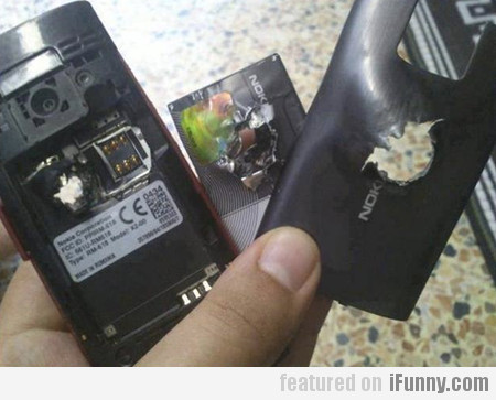 A Nokia Stops Bullet And Saves A Life In Syria