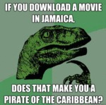 Does That Make You A Pirate Of The Carribean?