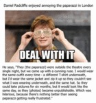 Daniel Radcliffe Enjoyed Annoying Paparazzi...