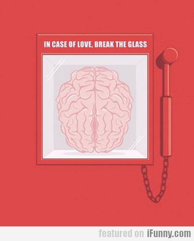 In Case Of Love, Break The Glass