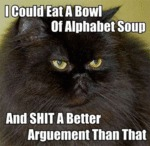 I Could Eat A Bowl Of Alphabet Soup...