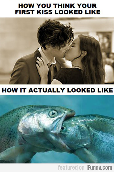 How Your First Kiss Looked Like!
