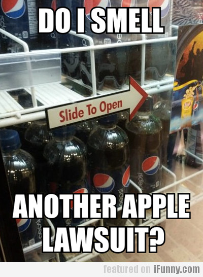 Do I Smell Another Apple Lawsuit?