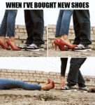 When I've Bought New Shoes