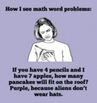 How I See Math Word Problems