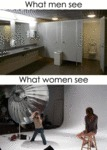 What Men See Vs. What Women See