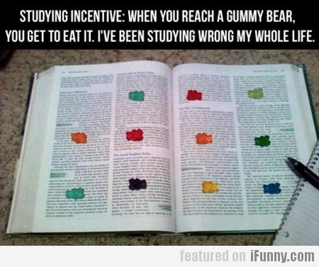Studying incentive