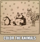 Color The Animals!