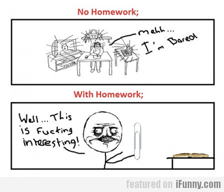 homework vs no homework