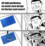 We Need A New Design For The Bus Seat Covers