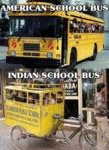 American Vs Indian School Bus