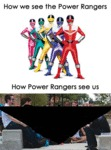 How We See The Power Rangers