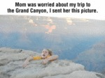 Mom Was Worried About My Trip…