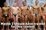Maybe I Should Have Trained For This Contest