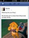 Watching The Lion King…