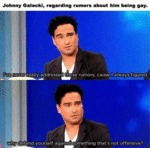 Good Guy Johnny Galecki