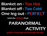 Paranormal Activity…