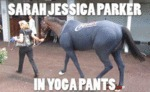 Sarah Jessica Parker In Yoga Pants
