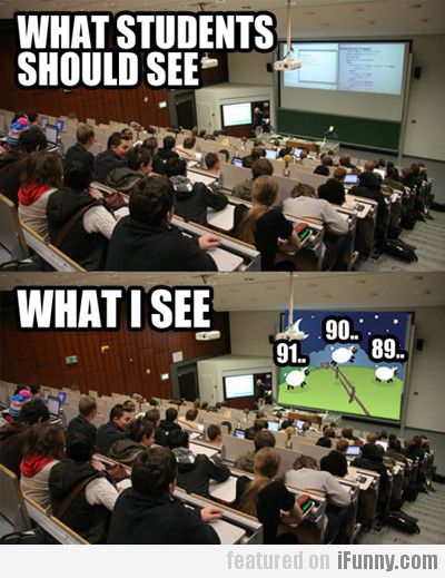 What students should see