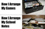 How I Arrange My Games…