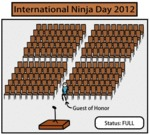 International Ninja Day 2012