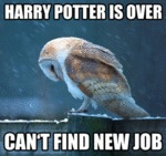 Harry Potter Is Over, Can't Find New Job