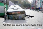 I'm Gonna Be A Subway Train