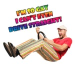 I'm So Gay I Can't Even Drive Straight!