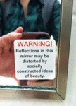 Reflections In This Mirror May Be Distorted…