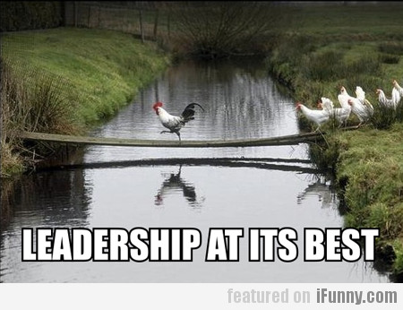 Leadership at its best