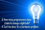 How Many Programmers Does It Take…