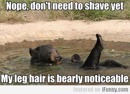 Nope, Don't Need To Shave Yet
