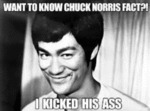 Want To Know Chuck Norris Fact?!