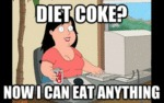 Diet Coke? Now I Can Eat Anything