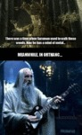 There Was A Time When Saruman...
