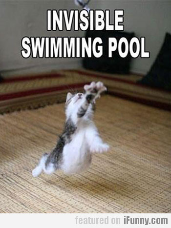Invisible Swimming Pool