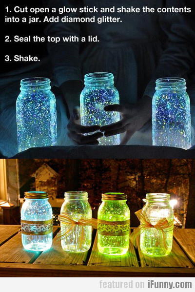 Glow Stick + Jar = Pure Awesomeness