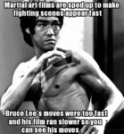 Martial Arts Films Are Sped Up To Make...