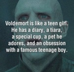 Voldemort Is Like A Teen Girl...