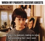 When My Parents Receive Guests