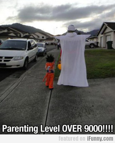 Parenting Level Over 9000!!!!