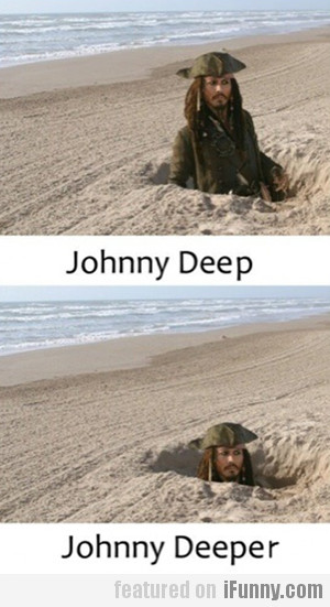 johnny deep...