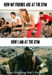 At The Gym: My Friends Vs. Me