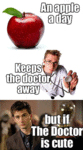 An Apple A Day, Keeps The Doctor Away...