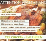 Attention Vegetarians